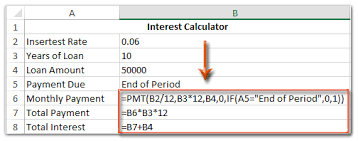 Loan Calculation Template How To Create Loan Amortization Interest Calculator Of Excel