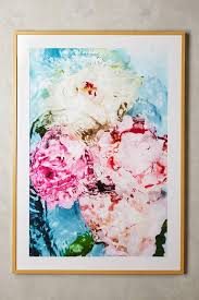on pink and gold floral wall art with abstract floral no 5 wall art