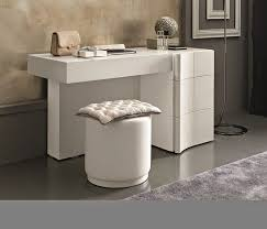 modern vanity table white dressing table design for small bedroom with folding mirror