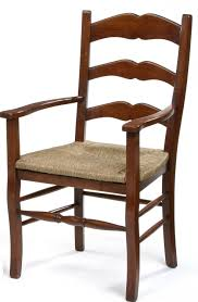 ladder back chairs with rush seats oak french cottage ladder back dining chairs in oak dining