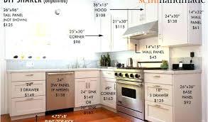 average price of kitchen cabinets. Average Kitchen Cabinet Cost Of Custom Cabinets Price D-code.co