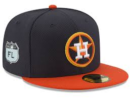 Fitted Authorized Custom new Mlb Dealers Fitted Custom Hats 59fifty Mets Navy Diamond Era Training Caps Houston Astros Cap 2017 Spring New