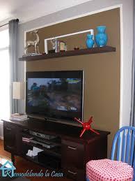Floating Shelves Around Tv Home Design Floating Shelves Around Tv Carpenters Cabinetry