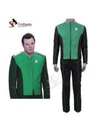<b>The Orville</b> Costume Mens Green <b>Medical Department</b> Uniform in ...