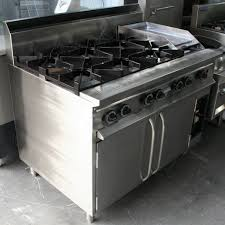 gas cooktop with grill. Supertron 6 Burner 300 Grill Jumbo Gas Oven Range Cooktop With R