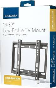 insignia tv wall mount fixed wall mount for most s black insignia tv wall mount instructions