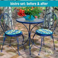 innovative diy outdoor bistro table with outdoor bistro set before and afterdiy show off diy decorating