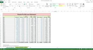 profit and loss excel spreadsheet simple profit and loss excel template coldtakes club