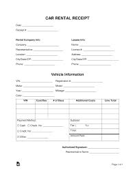 Doctor Receipt Template Official Receipt Template Free Car Rental Word Pdf Doctor