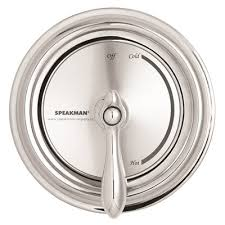 speakman sentinel mark ii regency 1 handle pressure balance valve and trim in chrome with