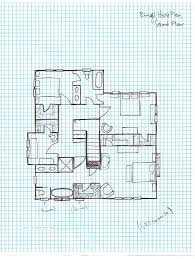 Ringel House Plan Graph Paper Second Floor Lets Build A House