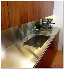 one piece stainless steel sink countertop