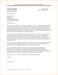 Best Ideas Of Sample Cover Letter High School Math Teacher For