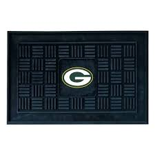 green bay packers rug outdoor mat bathroom set