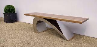 modern garden bench  luxury designer garden furniture  chris bose