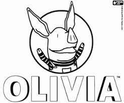 Olivia Coloring Pages Printable Games