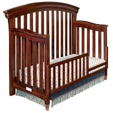 westwood design stratton convertible crib guard rail included in virginia cherry free