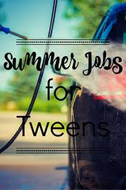 Summer Jobs For Tweens And Teens Mom On The Side Summer