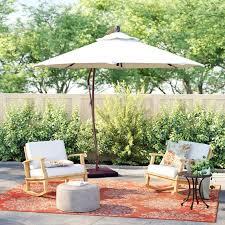 best backyard umbrellas martha stewart