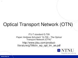 optical transport network otn n