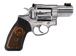 ruger gp100 7 shot revolver with 2 inch barrel right profile