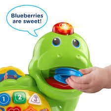 vtech count chomp dino with healthy treats for counting learning walmart