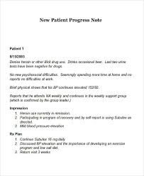 Free 18 Progress Note Examples Samples In Pdf Doc