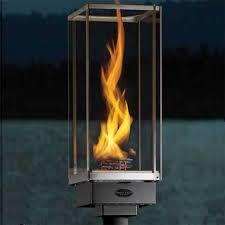 outdoor natural gas light fixtures.