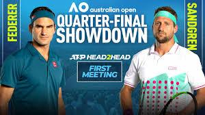 Preview: Roger Federer & Tennys Sandgren Face Off In Australian Open  Quarter-finals | ATP Tour