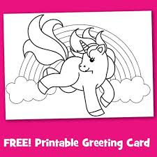 Check out our printable cards. Top 5 Free Unicorn Birthday Cards Unicorn Mania