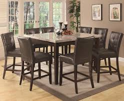 milton real marble top counter height dining set return to previous page lightbox
