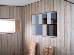 image of painting wood paneling home