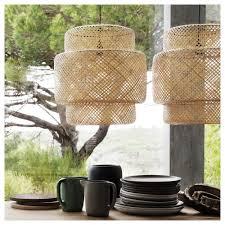 bamboo pendant light. IKEA SINNERLIG Pendant Lamp Each Handmade Shade Is Unique. Bamboo Light