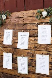 Wedding Seating Chart Ideas Pinterest Charming Rustic Upstate Farm Wedding Table Numbers