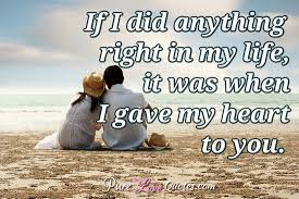 Love Quotes For Her From The Heart Mesmerizing 48 Sweet And Cute Love Quotes For Her For All Occasions PureLoveQuotes