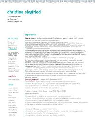 Templates Senior Artrector Resume Sample Skills Gallery Template