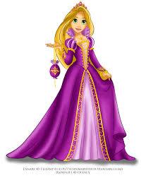 Rapunzel in royal purple by selinmarsou.deviantart.com on @deviantART |  Princesse disney, Raiponce, Princesse