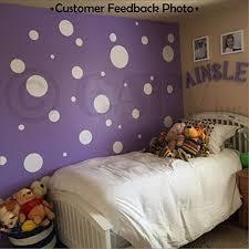 assorted vinyl polka dots circle wall