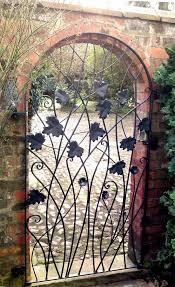 iron garden gates new wrought gate stylish marvelous decoration inside 19