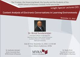 insight talk content analysis of electronic conversations insight32 dr binod invite 2