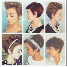 Bows In Hair Style how to style a pixie hair cut hairfacenailssuch pinterest 1011 by wearticles.com