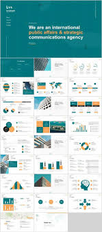 Pptx Themes 27 Company Cool Introduction Chart Powerpoint Template
