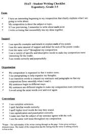 resume examples templates essay writing checklist high school   essay writing checklist errors before editing revise edit step encourages students calkins editing checklist for writing