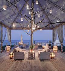 beachy lighting. 20 Dreamy Beach-Style Decks For A Relaxing Staycation Beachy Lighting Y