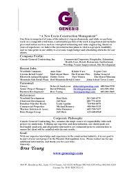... Stunning Idea Resume Company 1 Company Resume