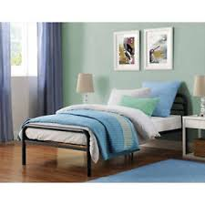 Kids black bedroom furniture Ashley B128 Details About Platform Bed Frame Twin Size Metal Headboard Kids Bedroom Furniture Black New Ebay Platform Bed Frame Twin Size Metal Headboard Kids Bedroom Furniture