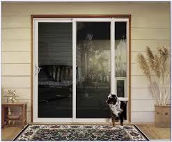 pet door cat flap in glass door sliding screen door with dog door built in small