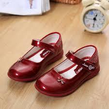 2018 <b>Designer Bowknot</b> Princess Patent Leather Girls <b>Shoes</b> ...