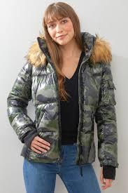 S13 Coat Size Chart S13 Camo Puffer Coat