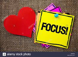 Writing Note Showing Focus Motivational Call Business Photo